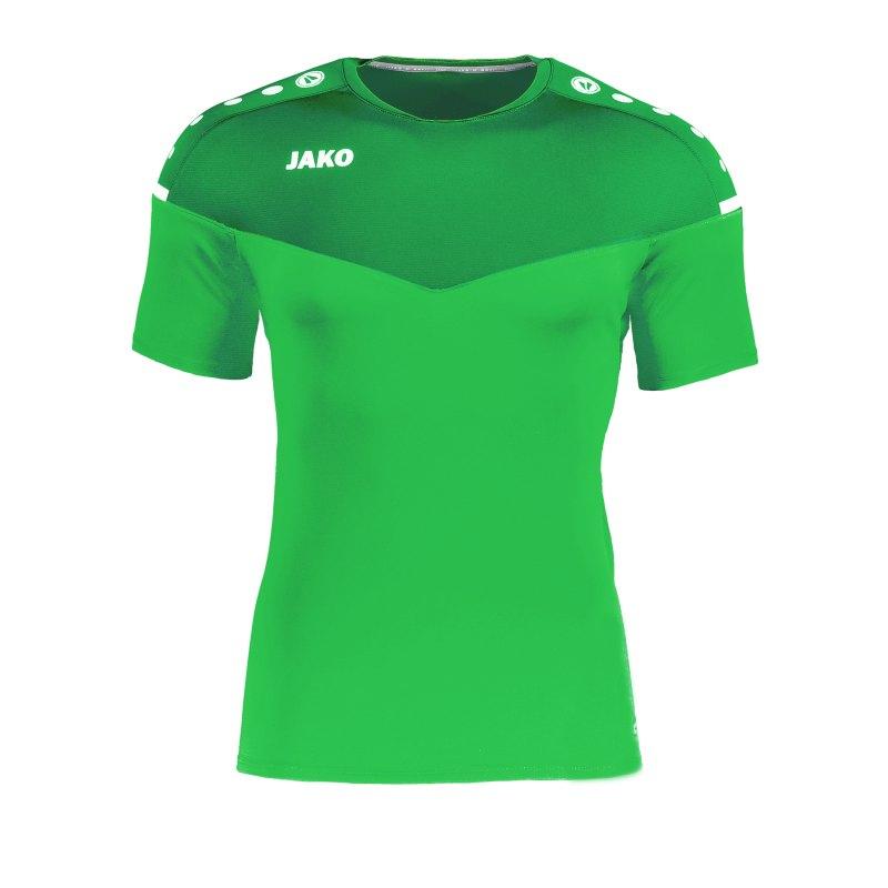 Jako Champ 2.0 T-Shirt Grün F22 - Gruen