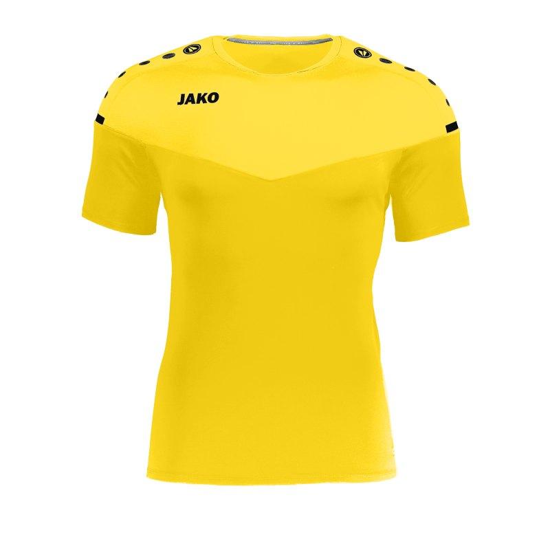 Jako Champ 2.0 T-Shirt Kids Gelb F03 - gelb