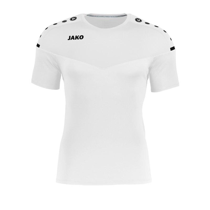 Jako Champ 2.0 T-Shirt Weiss F00 - weiss