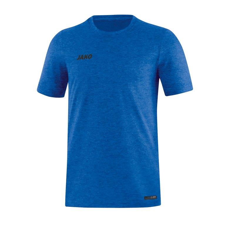 Jako T-Shirt Premium Basic Blau F04 - blau