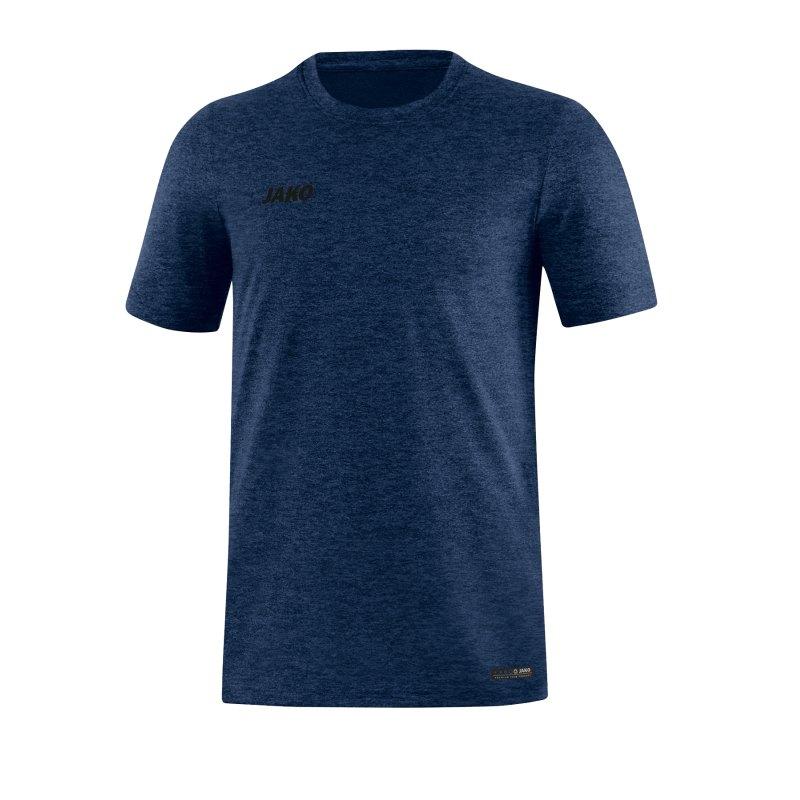 Jako T-Shirt Premium Basic Blau F49 - blau