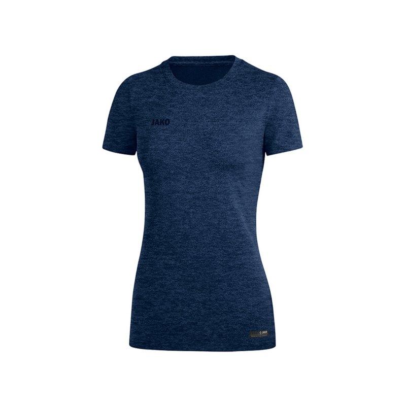 Jako T-Shirt Premium Basic Damen Blau F49 - Blau