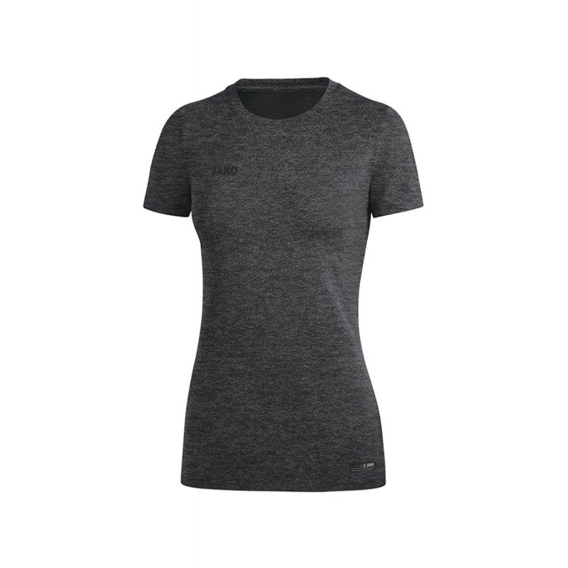 Jako T-Shirt Premium Basic Damen Grau F21 - Grau
