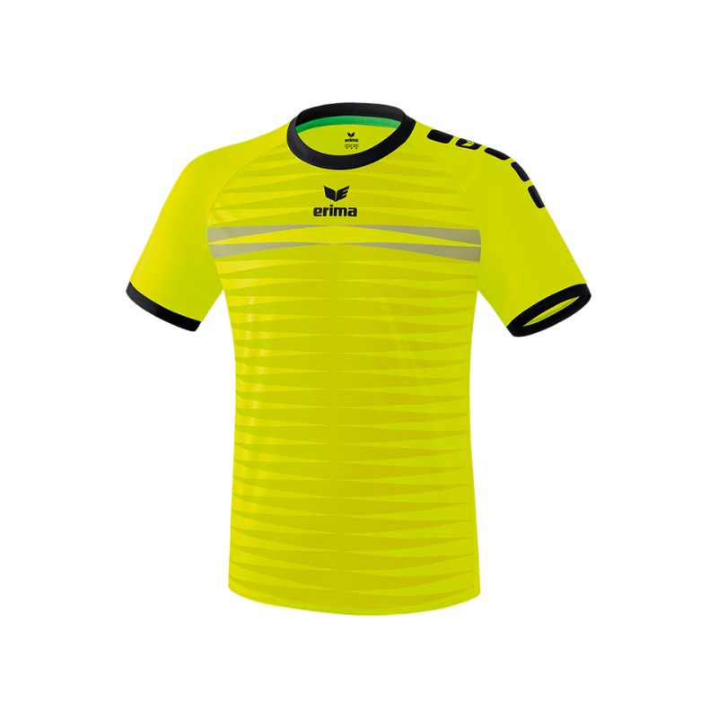 Erima Ferrara 2.0 Trikot kurzarm Gelb Schwarz - gelb