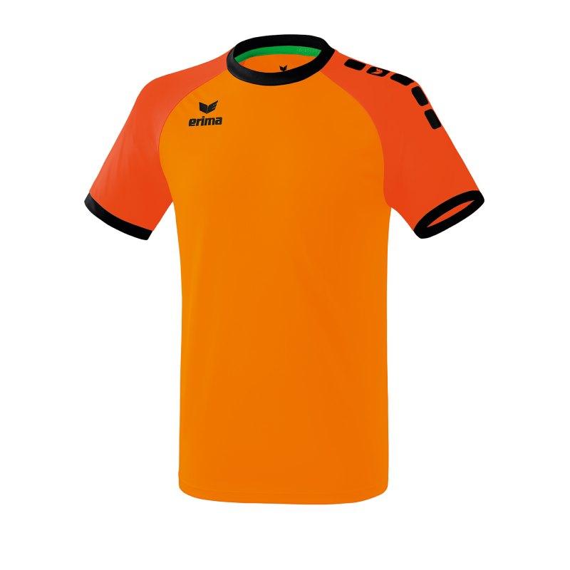 Erima Zenari 3.0 Trikot Orange Schwarz - Orange