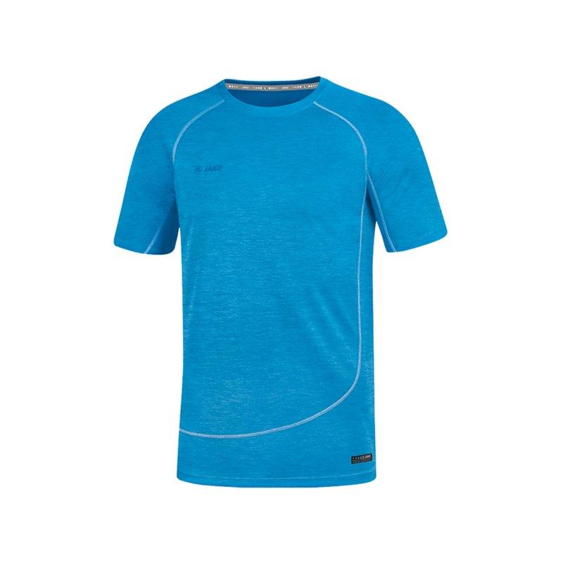 Jako T-Shirt Active Basics Blau F89 - Blau