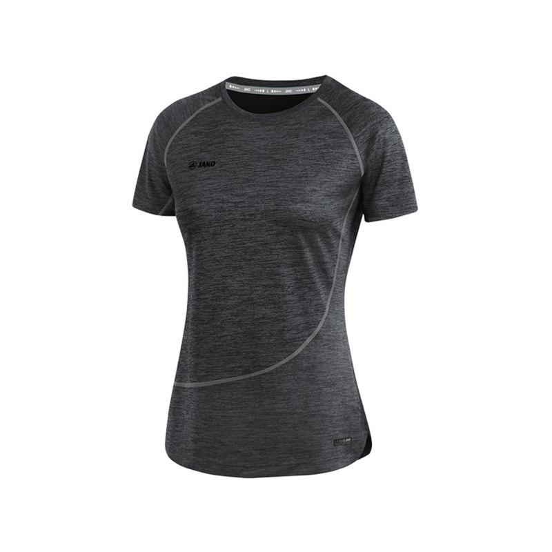 Jako T-Shirt Active Basics Damen Schwarz F08 - Schwarz