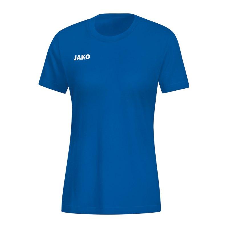JAKO Base T-Shirt Damen Blau F04 - blau