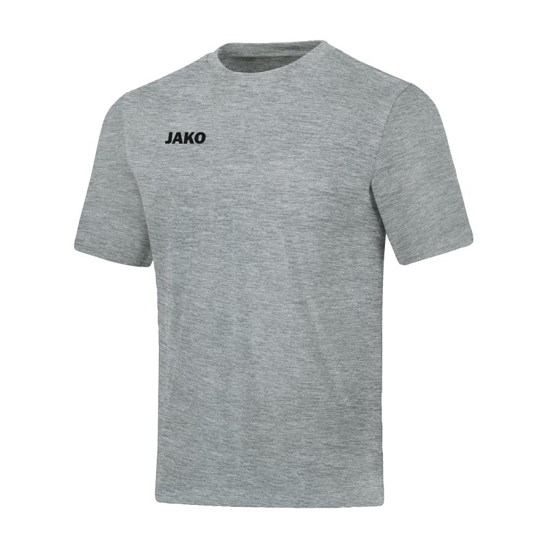 JAKO Base T-Shirt Kids Hellgrau F41 - grau