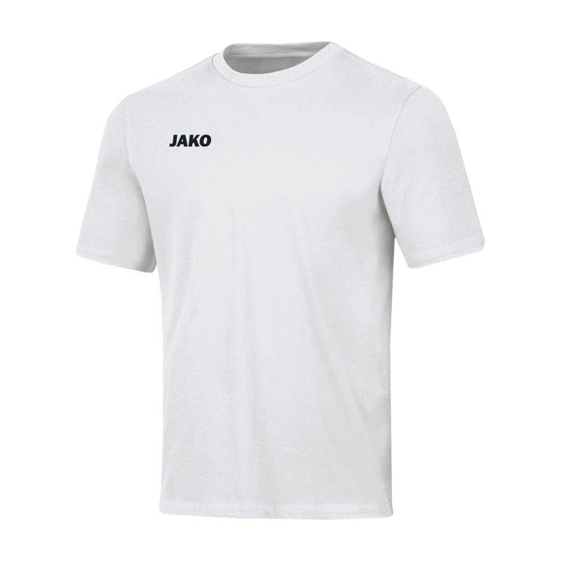JAKO Base T-Shirt Kids Weiss F00 - weiss