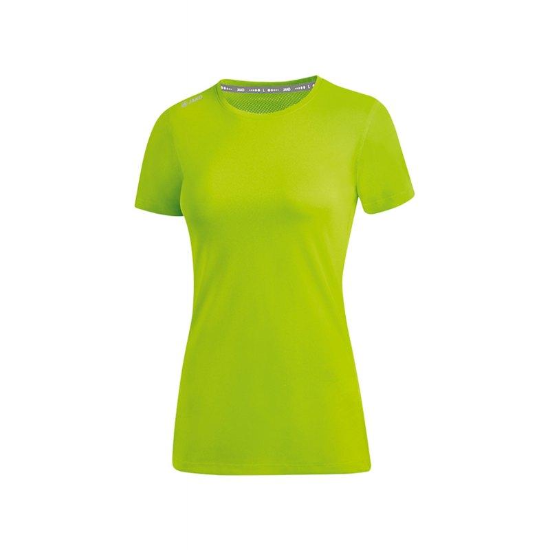 Jako Run 2.0 T-Shirt Running Damen Grün F25 - Gruen