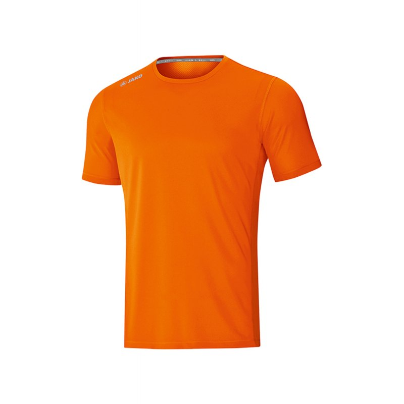 Jako Run 2.0 T-Shirt Running Kids Orange F19 - Orange