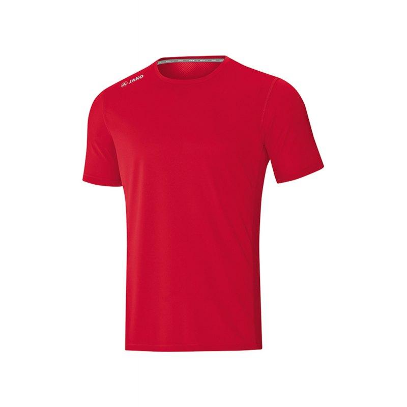 Jako Run 2.0 T-Shirt Running Kids Rot F01 - Rot