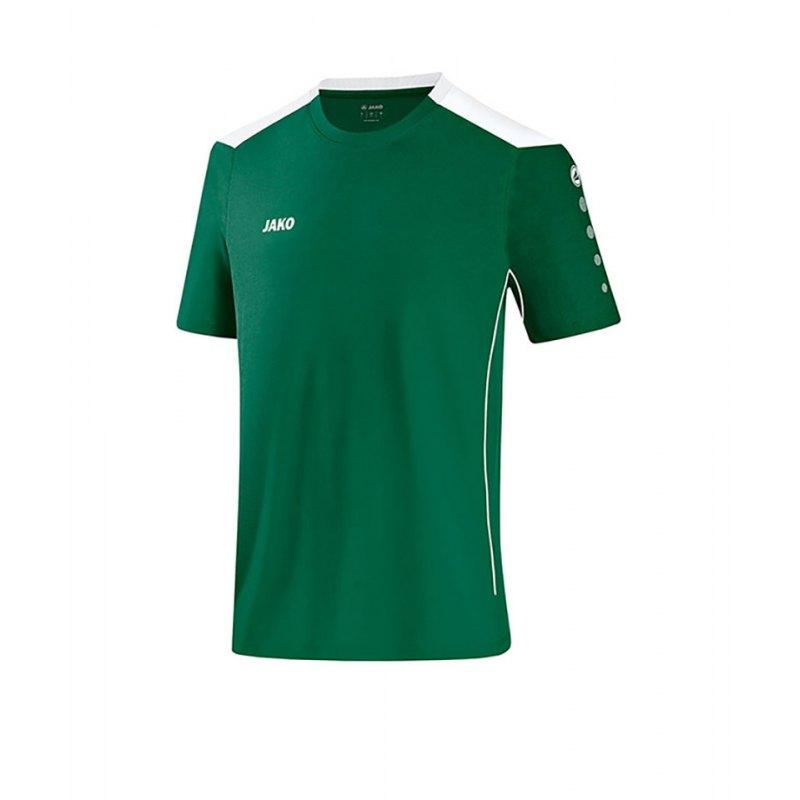Jako T-Shirt Cup F02 Grün Weiss - gruen
