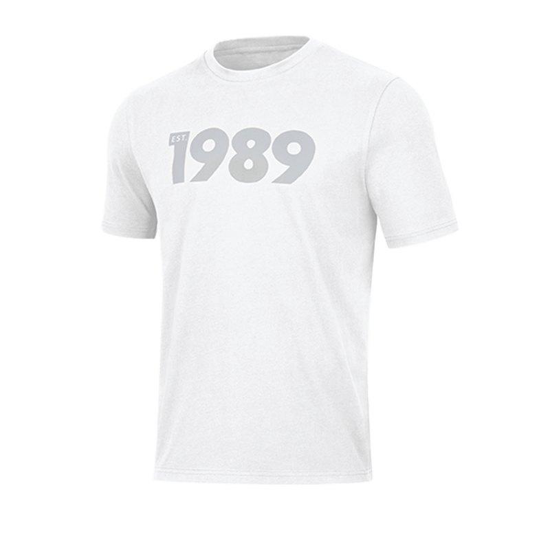 Jako Base 1989 T-Shirt Weiss F00 - weiss