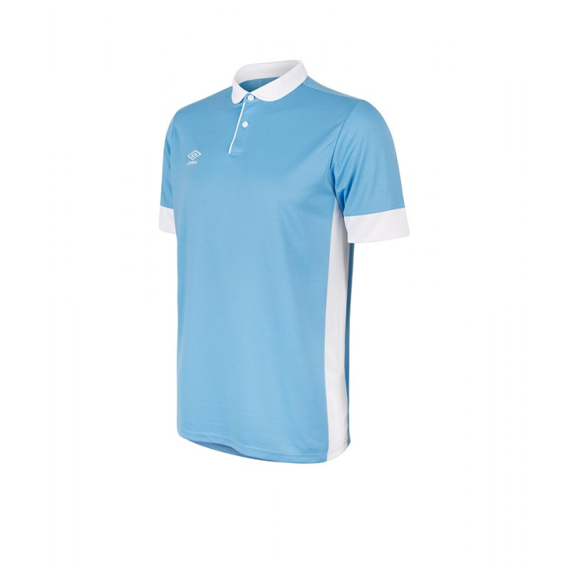 Umbro Trophy Jersey Trikot kurzarm Blau Weiss F315 - blau