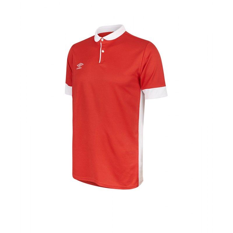 Umbro Trophy Jersey Trikot kurzarm Rot Weiss FA54 - rot