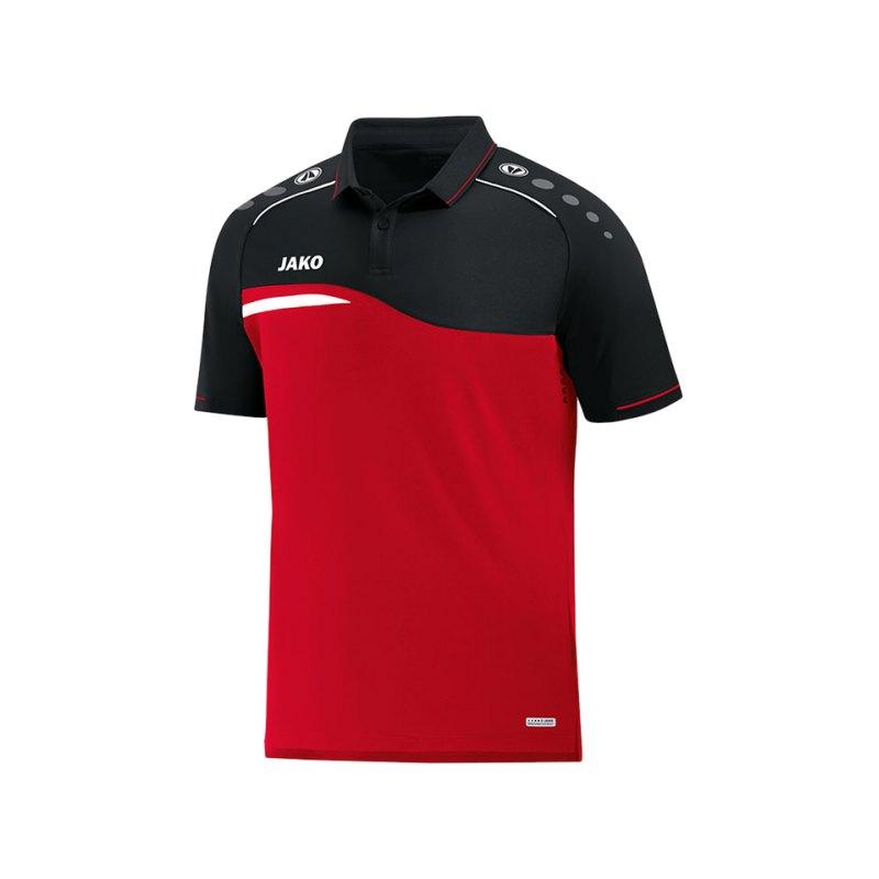 Jako Competition 2.0 Poloshirt Kids Rot F01 - rot
