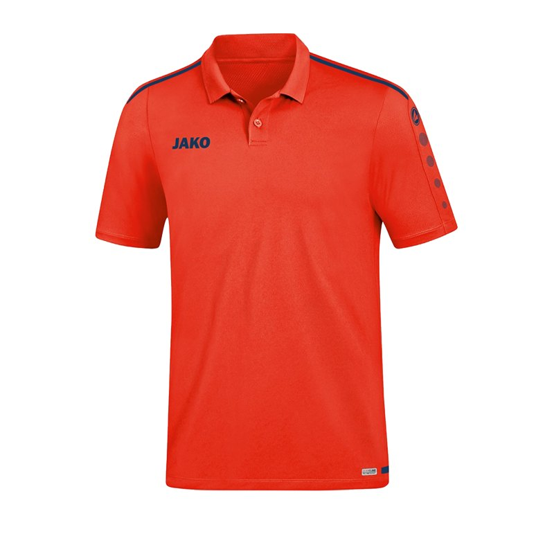 Jako Striker 2.0 Poloshirt Orange F18 - orange