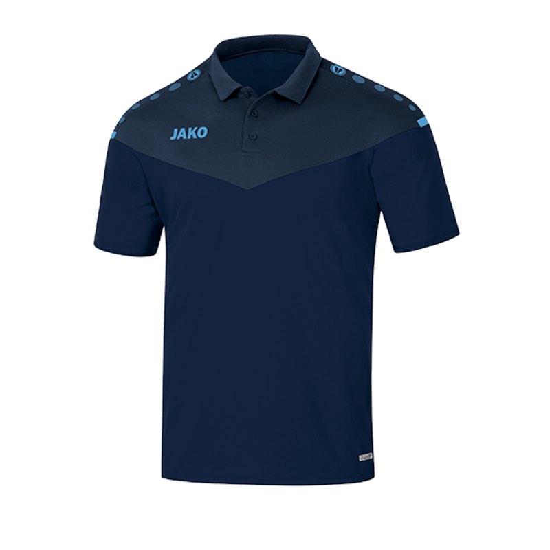Jako Champ 2.0 Poloshirt Damen Blau F95 - blau