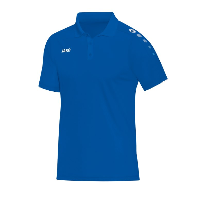 Jako Classico Poloshirt Blau F04 - Blau