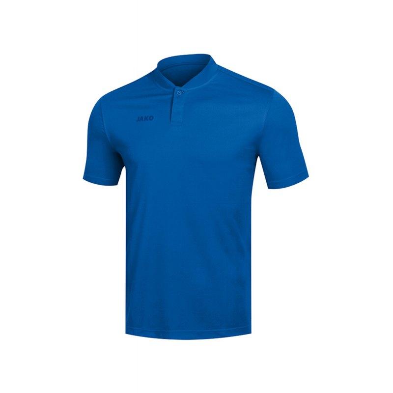 Jako Prestige Poloshirt Damen Blau F04 - Blau