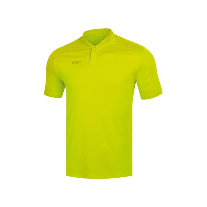 Jako Prestige Poloshirt Damen Gelb F32 - Gelb