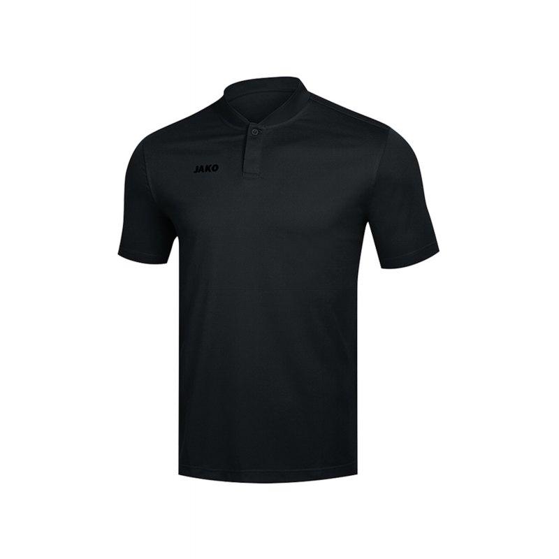 Jako Prestige Poloshirt Damen Schwarz F08 - Schwarz