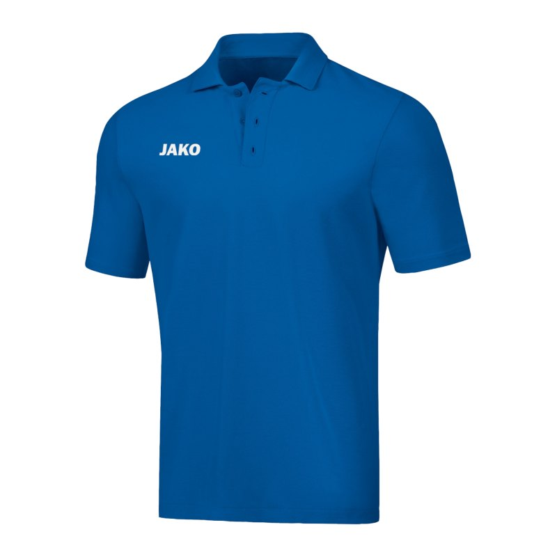 JAKO Base Poloshirt Kids Blau F04 - blau
