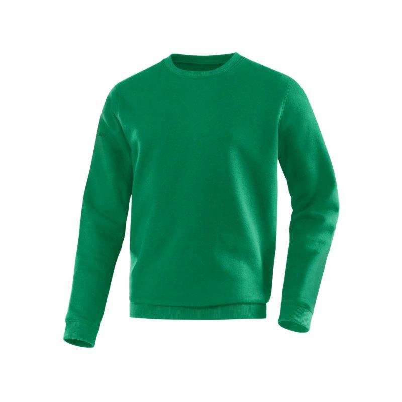 Jako Sweatshirt Team Sweat Grün F06 - gruen