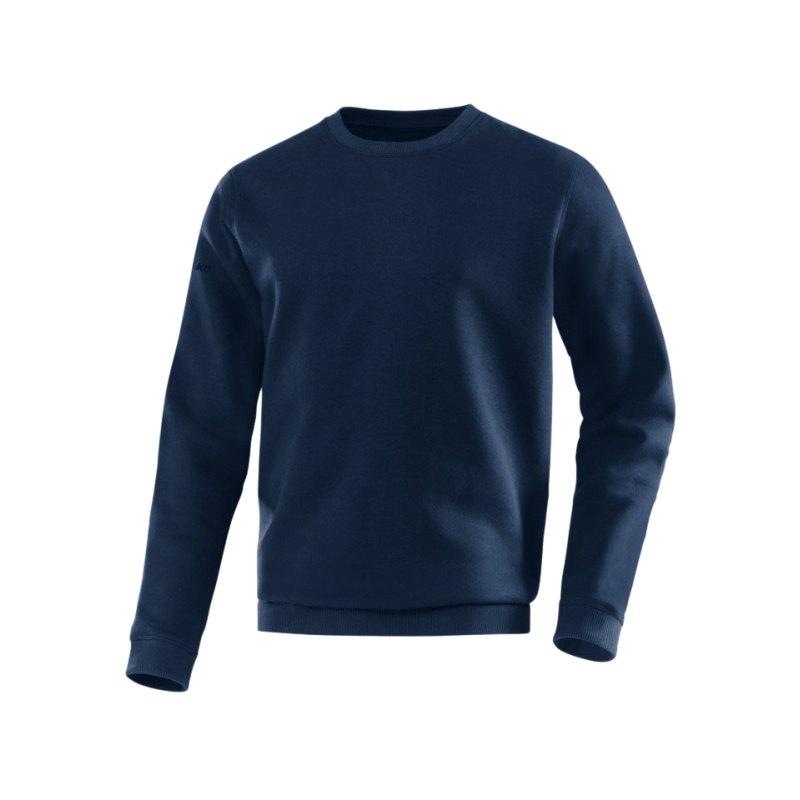 Jako Sweatshirt Team Sweat Kinder Dunkelblau F09 - blau