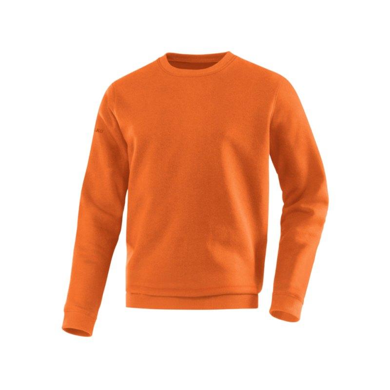 Jako Sweatshirt Team Sweat Kinder Orange F19 - orange