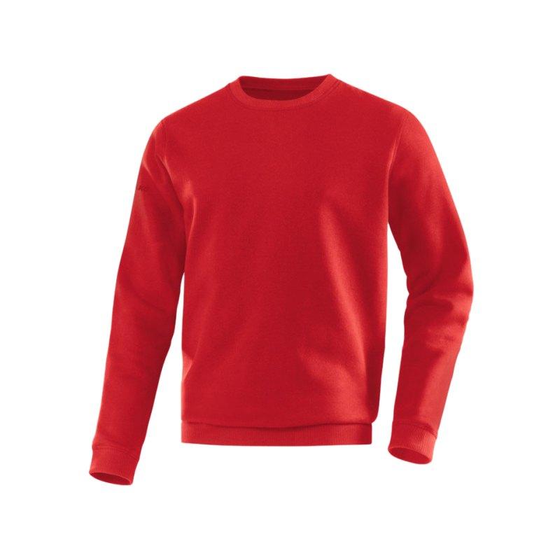 Jako Sweatshirt Team Sweat Rot F01 - rot