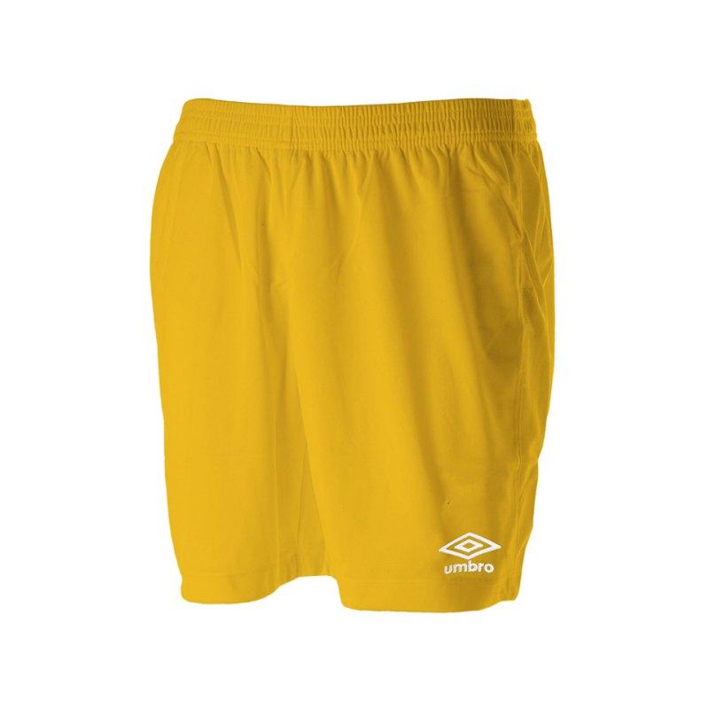 Umbro New Club Short Kids Gelb F0LH - gelb