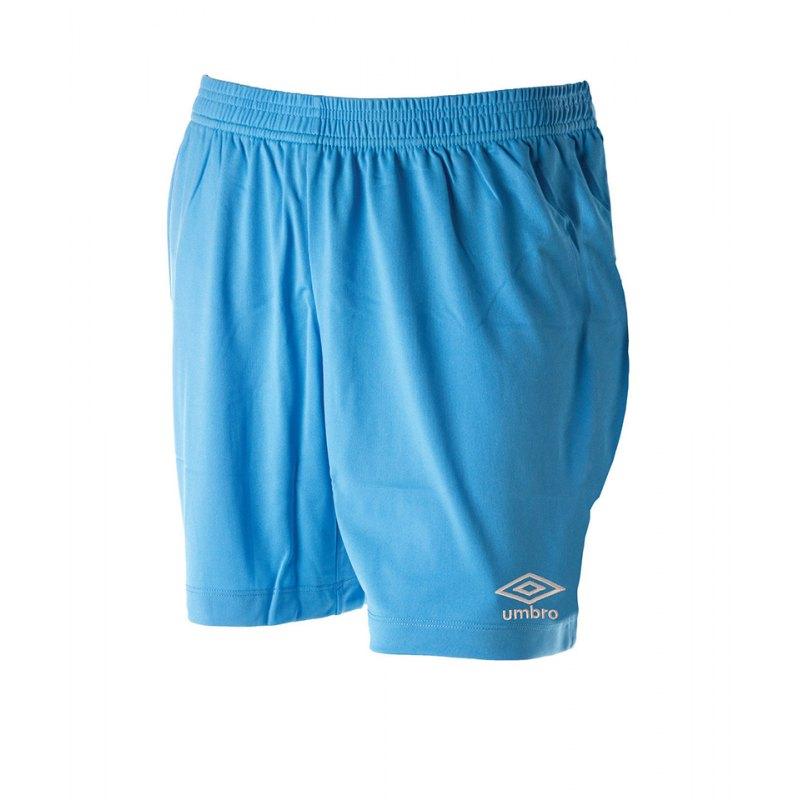 Umbro New Club Short Kids Hellblau F31B - blau