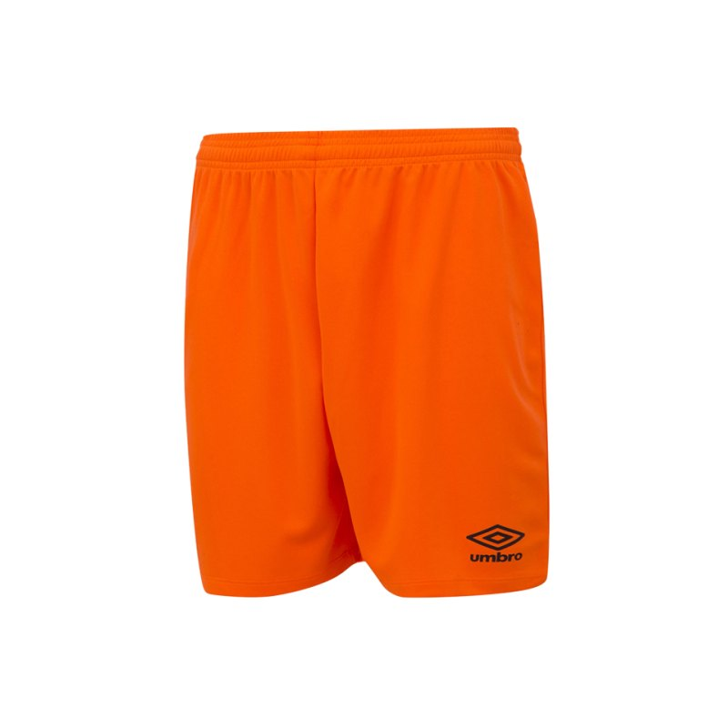 Umbro New Club Short Kids Orange F37I - orange