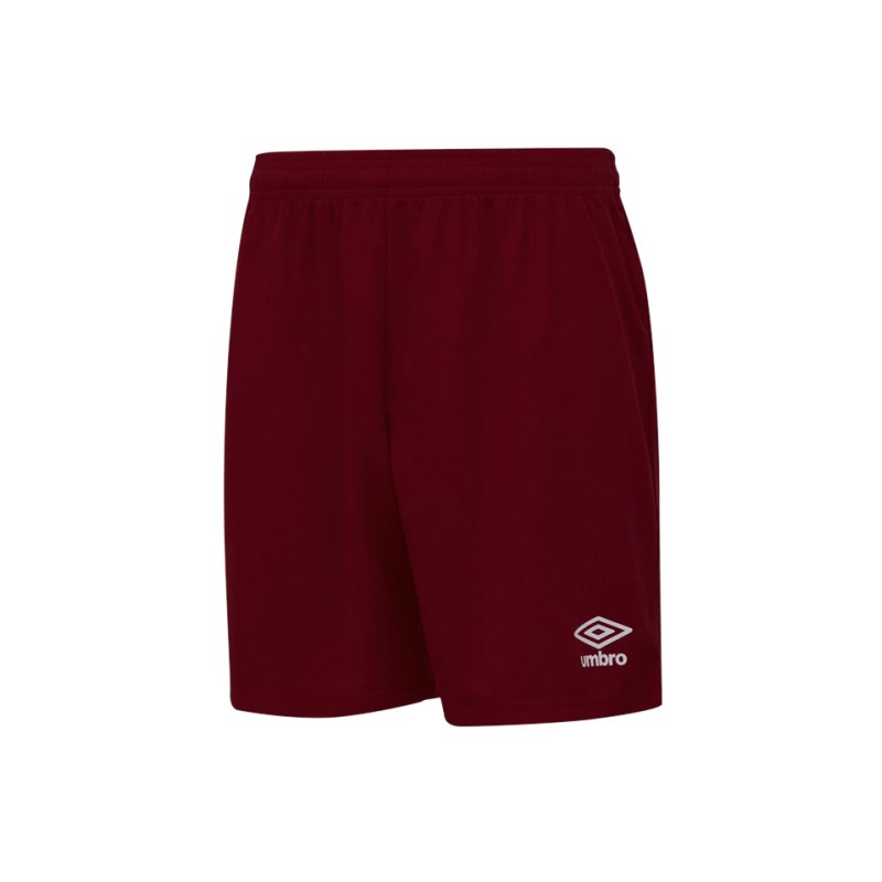 Umbro New Club Short Kids Rot FNCL - rot