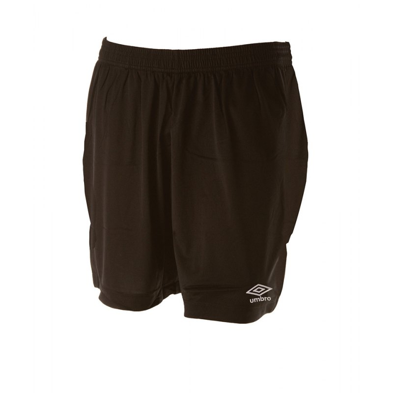 Umbro New Club Short Kids Schwarz F005 - schwarz