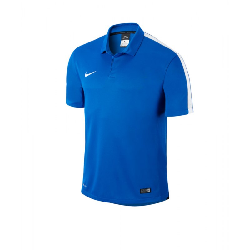 Nike Sideline Poloshirt Squad 15 F463 Blau - blau
