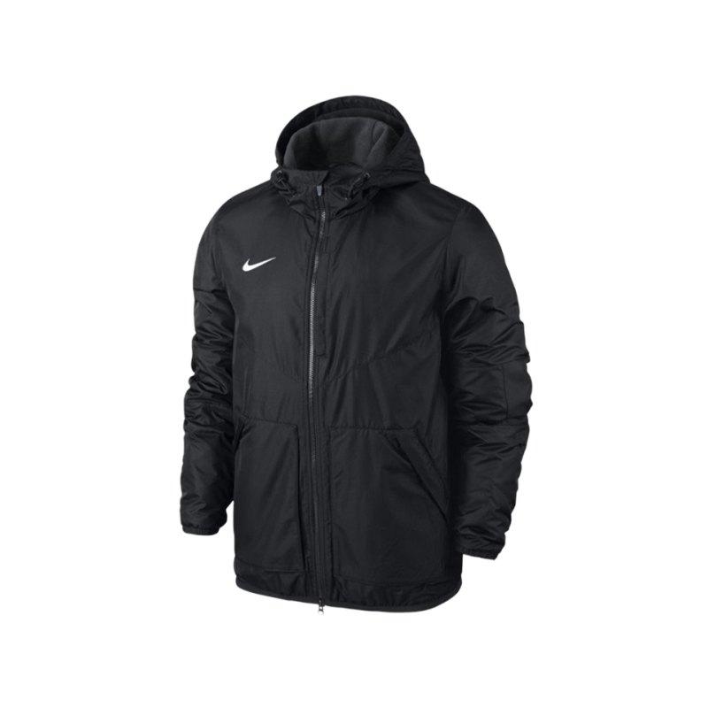 Nike Jacke Outerwear Team Fall Jacket Schwarz F010 - schwarz
