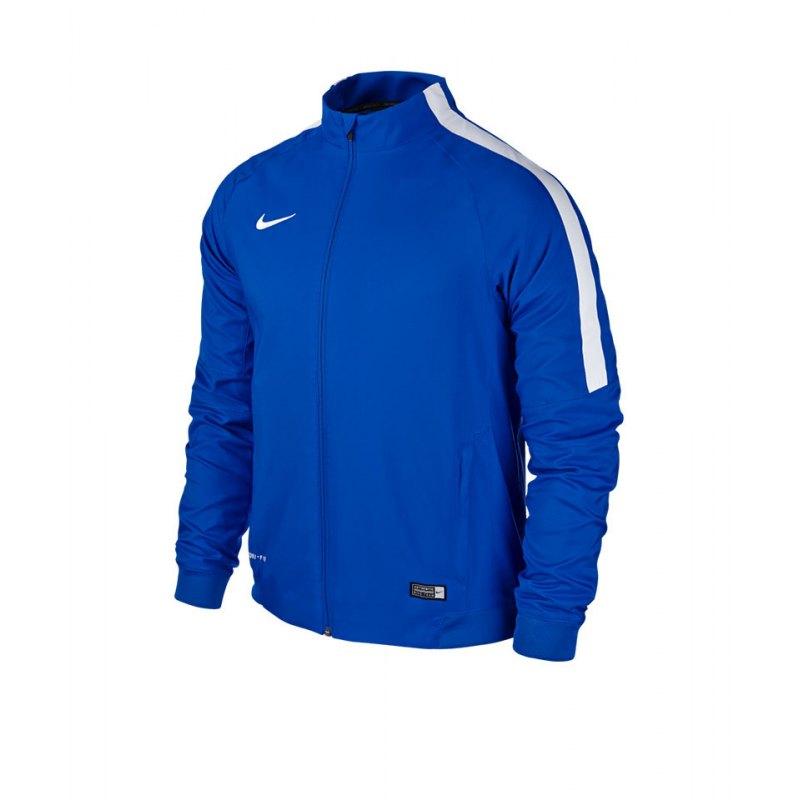 Nike Sideline Woven Jacket Squad 15 Kinder F463 - blau