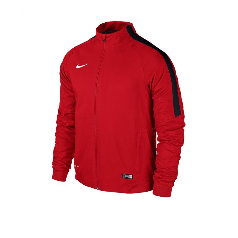 Nike Sideline Woven Jacket Squad 15 Kinder F657 - rot