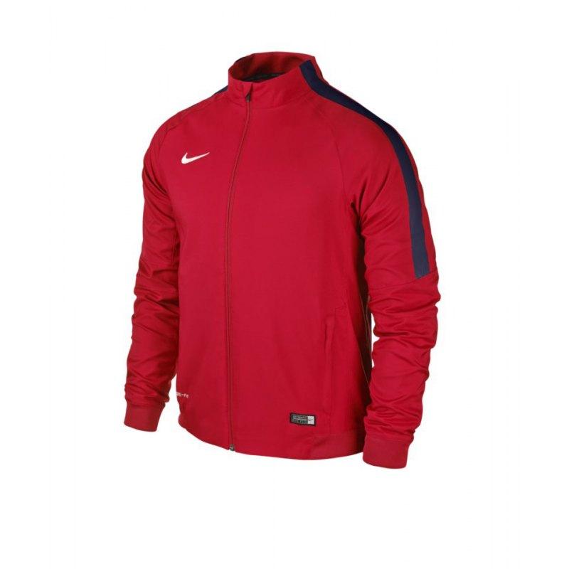 Nike Sideline Woven Jacket Squad 15 Kinder F662 - rot