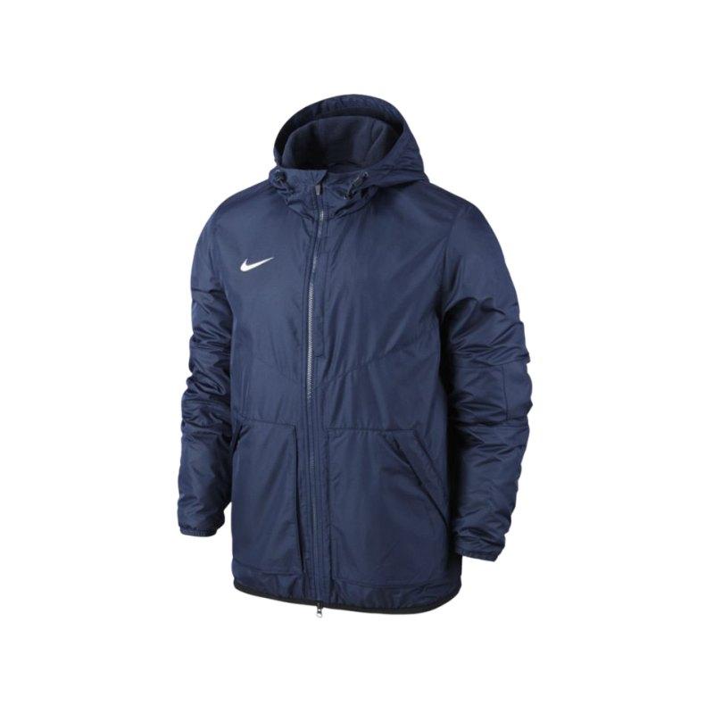 Nike Jacke Outerwear Team Fall Jacket Kinder F451 - blau