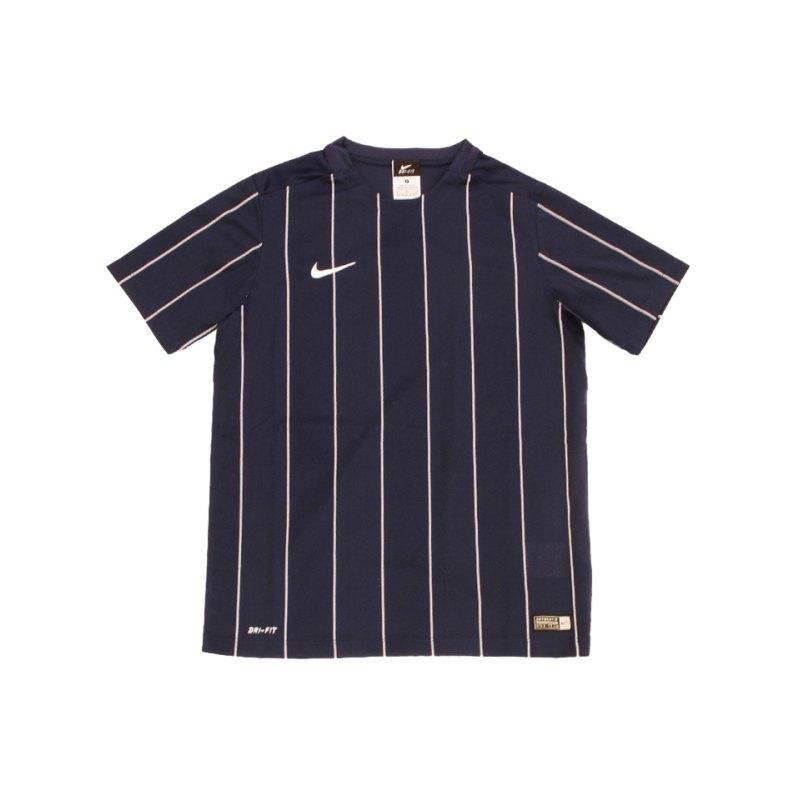Nike Striped Segment II Trikot kurzarm Kids F410 - blau