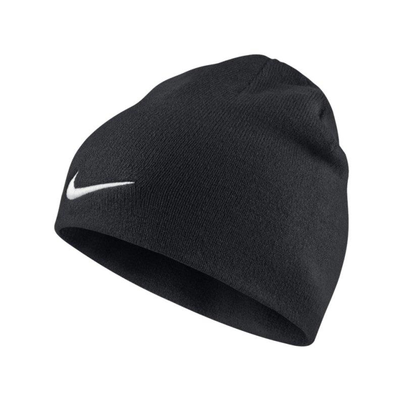 Nike Mütze Performance Beanie Team F010 Schwarz - schwarz