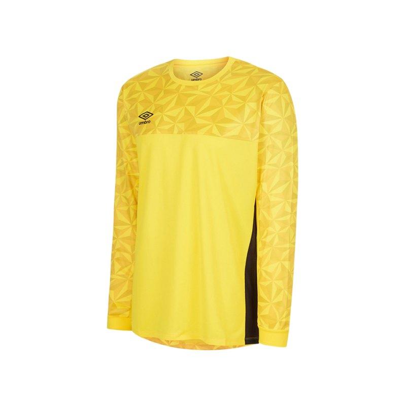 Umbro Portero Jersey TW-Trikot langarm Gelb F0LF - gelb