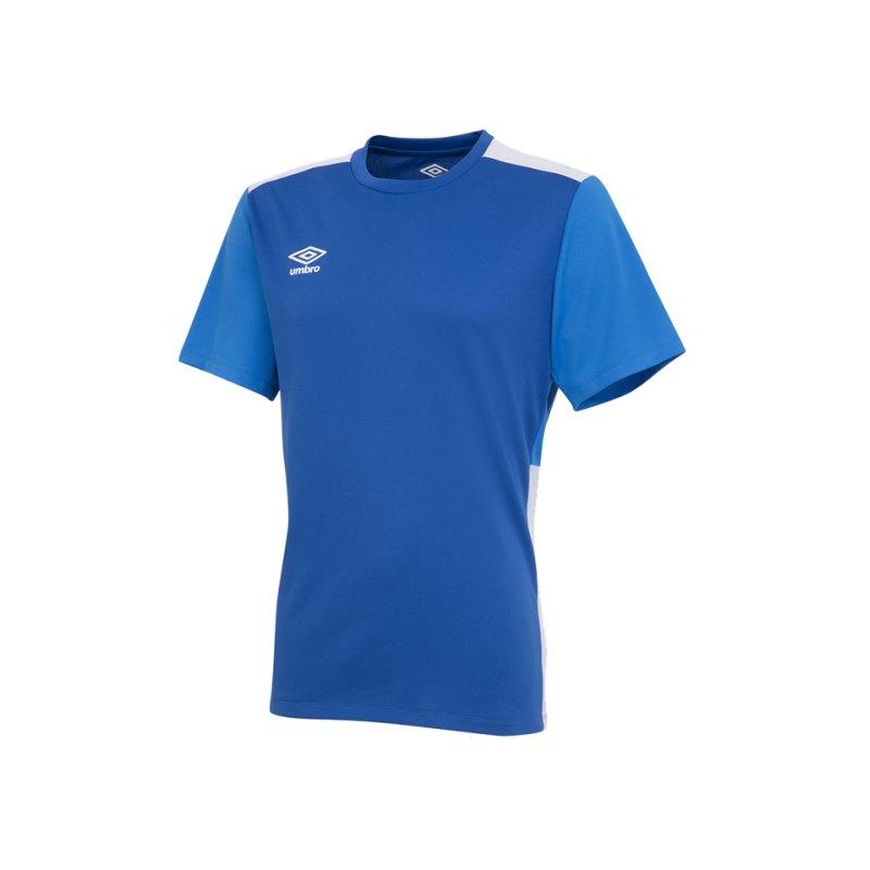 Umbro Training Poly Tee T-Shirt Blau FEVB - blau