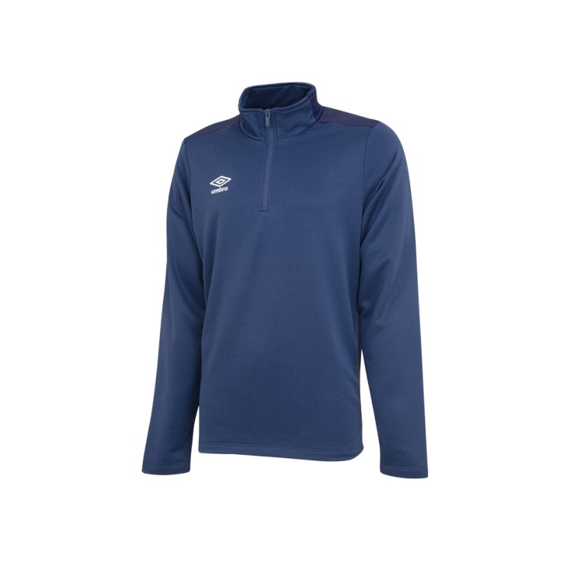 Umbro Training 1/2 Sweat Dunkelblau FEVA - blau