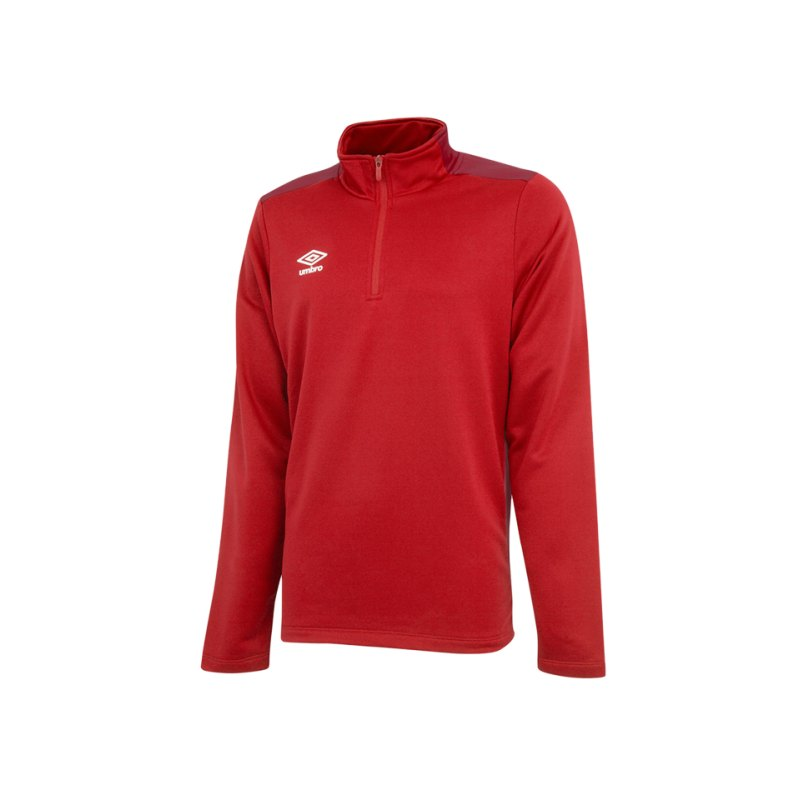 Umbro Training 1/2 Sweat Rot FDNC - rot